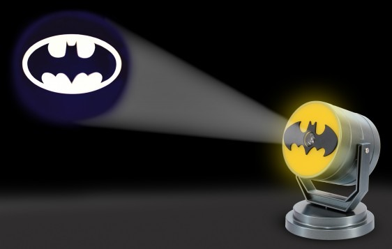 Batman Bat Signal Projector Light Projects Over 10 Metres Indiego Distribution